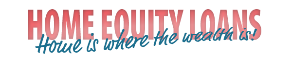 "Red ""Home Equity Loans"" banner"