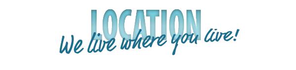 "Blue ""location"" banner"